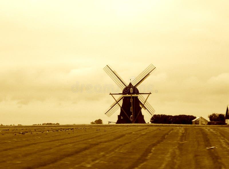风车 免版税图库摄影