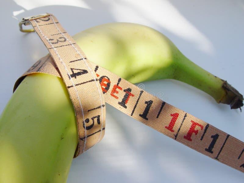 香蕉饮食 免版税图库摄影