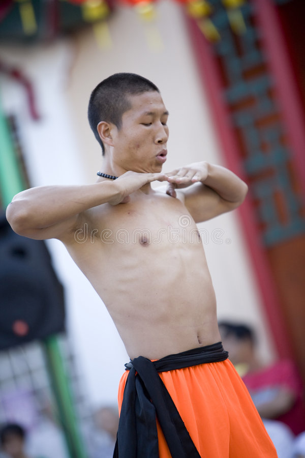 3934 fu kung shaolin fotografia stock