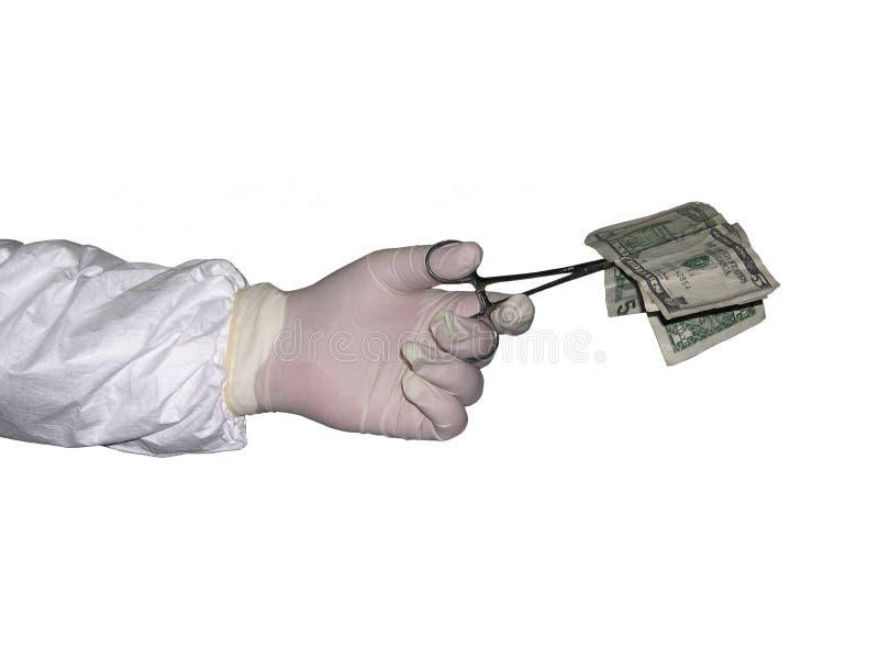 高费用的医疗保健 免版税图库摄影