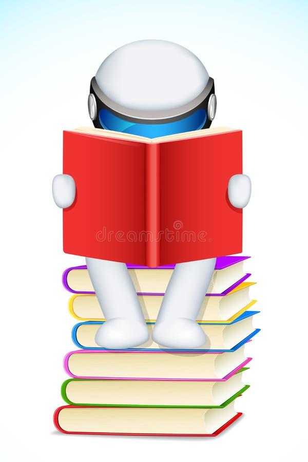 3d书人读取 皇族释放例证
