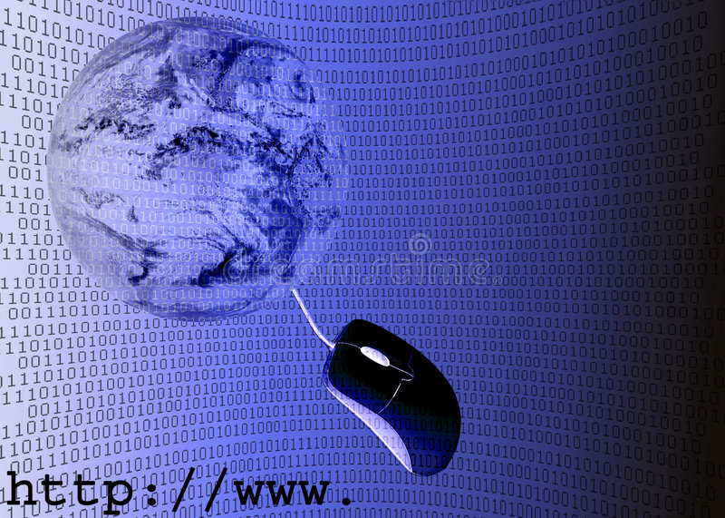 3d例证互联网