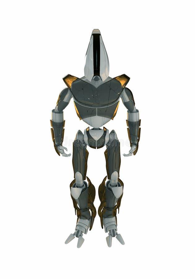 3d冷却机器人 向量例证