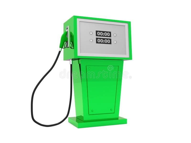 3d回报气泵的例证在空白背景的。 皇族释放例证