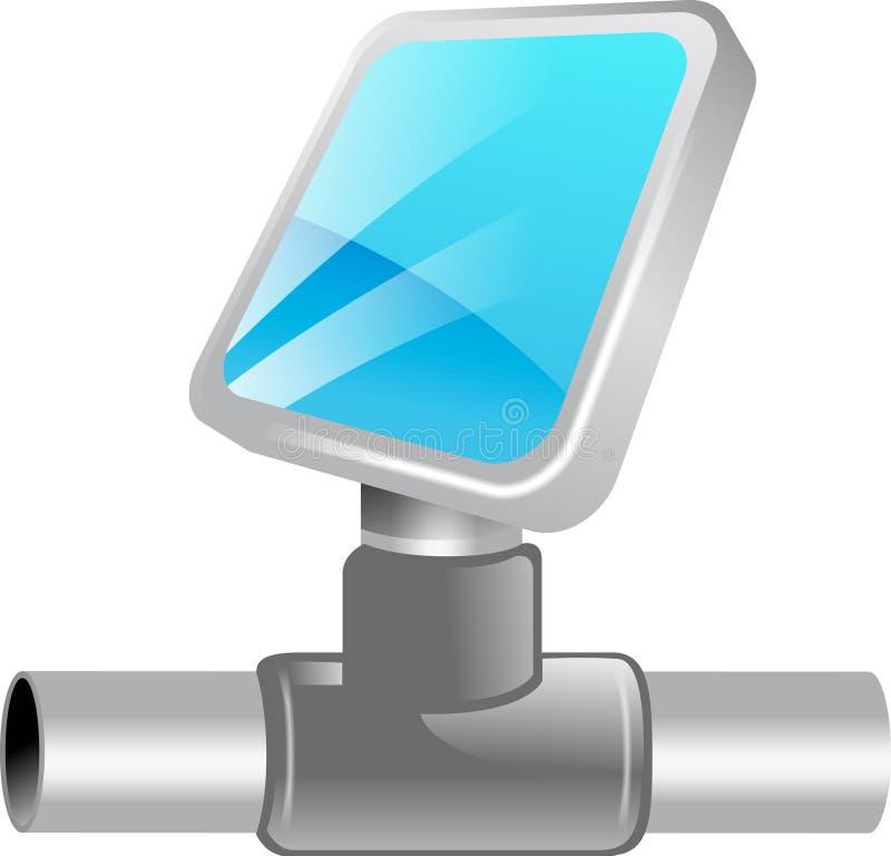 3d图标网络 免版税库存照片