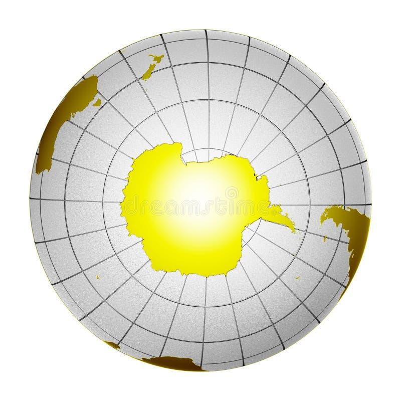 3d地球地球查出的行星 皇族释放例证