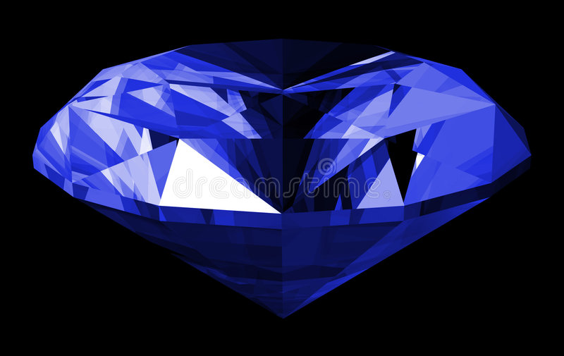 3d宝石查出的青玉 皇族释放例证