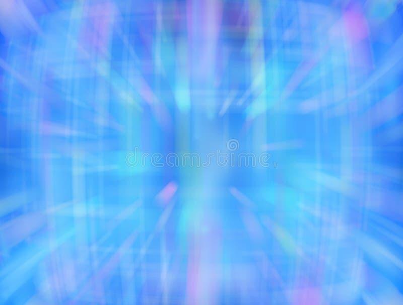 3d抽象背景蓝色 向量例证