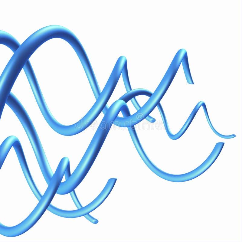 3d抽象背景设计风 库存例证