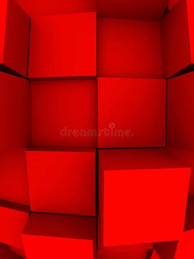 3d抽象背景 库存例证