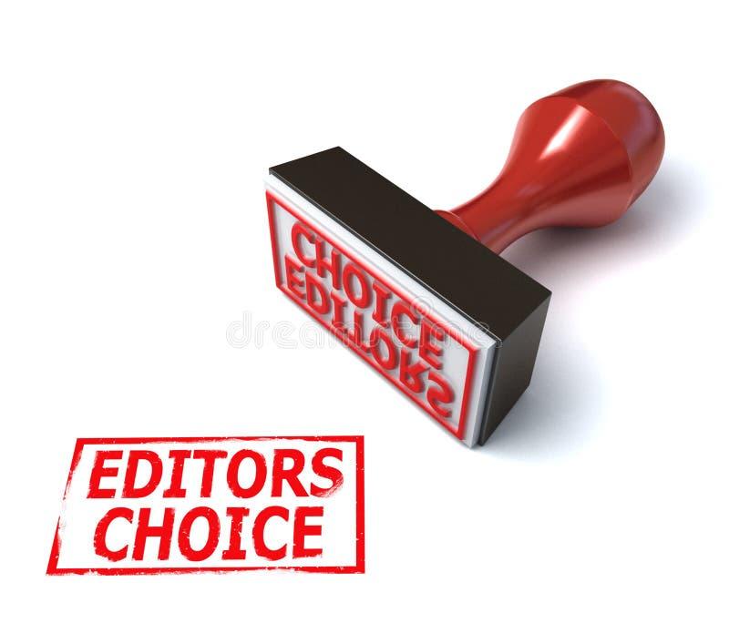 3d挑选编辑印花税 向量例证