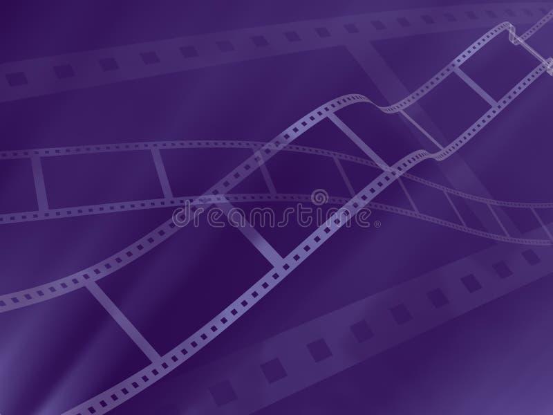 3d摄影抽象背景的影片 皇族释放例证
