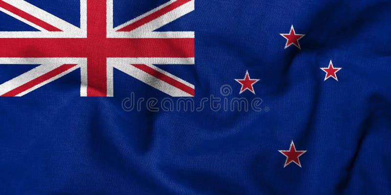 3d标志新西兰 库存照片