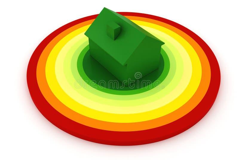3d概念效率能源 库存例证