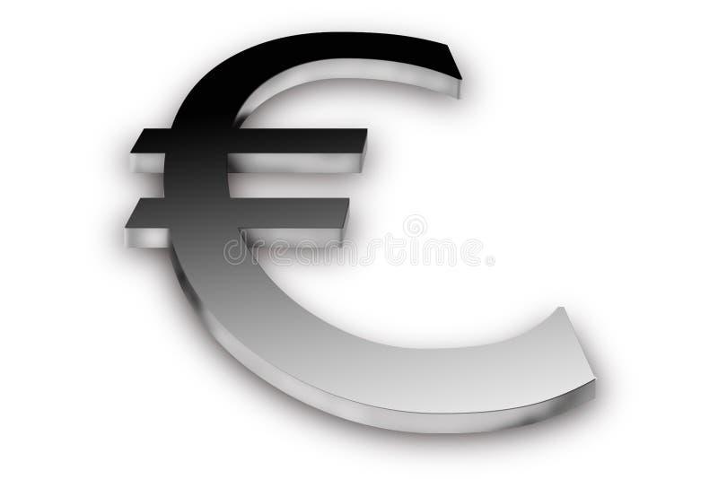 3d欧元 库存图片