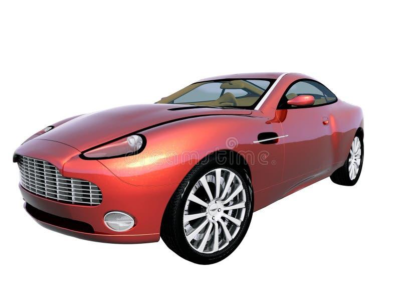 3d汽车体育运动 向量例证