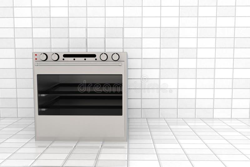 3d烤箱 向量例证