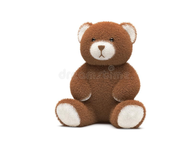 3d熊回报女用连杉衬裤 皇族释放例证