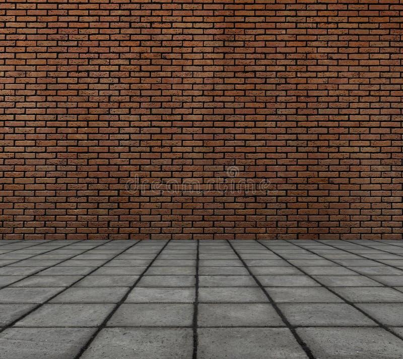 3d砖路面回报瓦片墙壁 向量例证