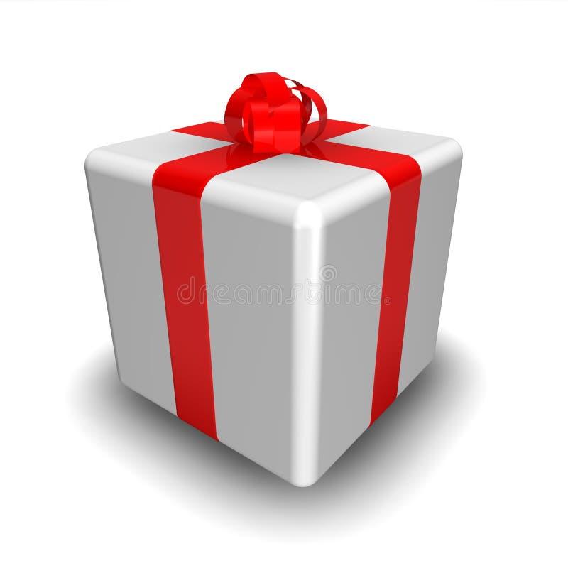 3d礼品 向量例证