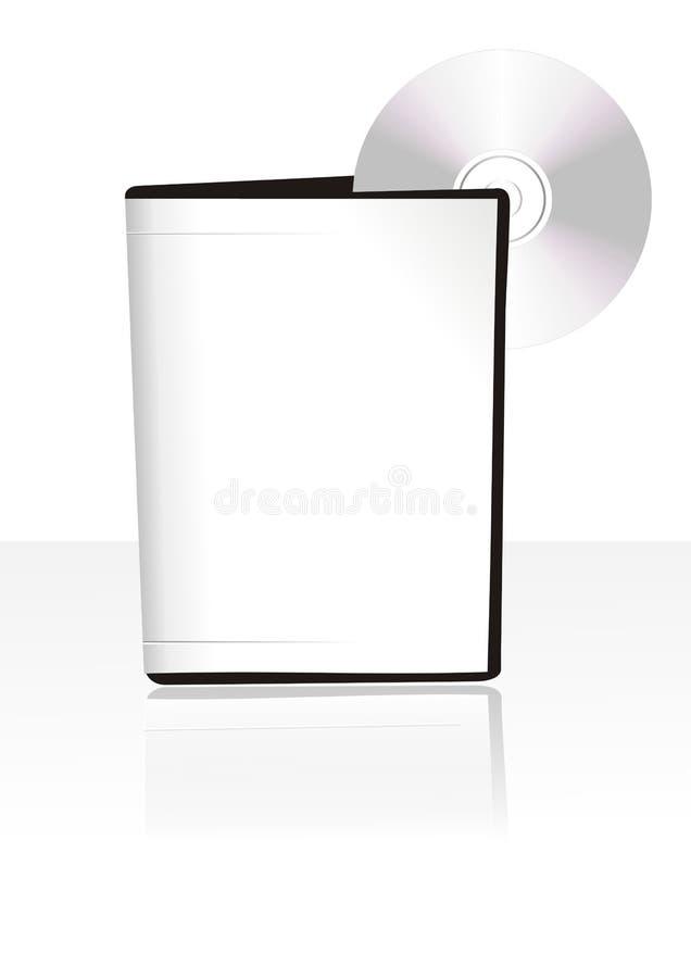 3d空白配件箱 向量例证