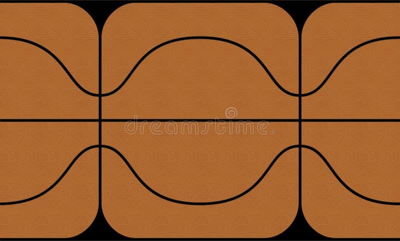 3d篮球映射纹理 图库摄影