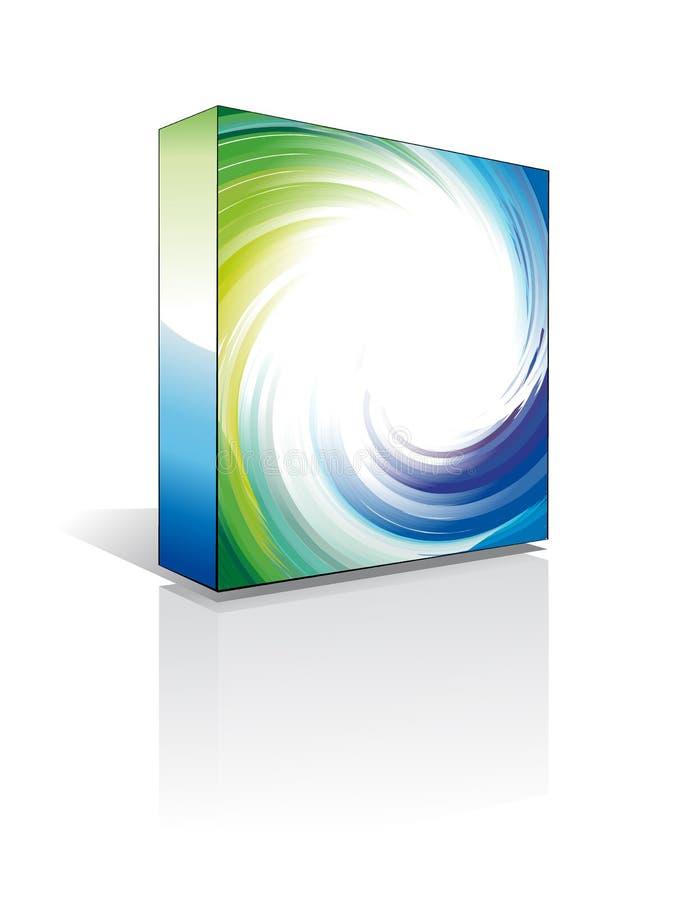 3d配件箱软件 皇族释放例证