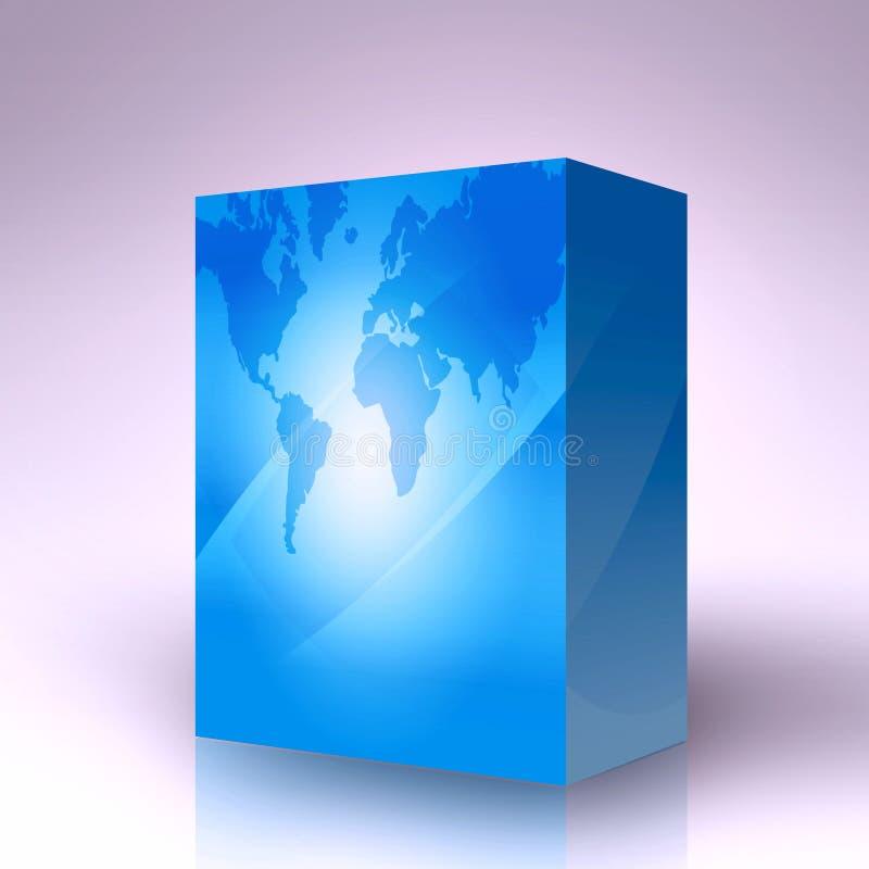 3d配件箱 向量例证