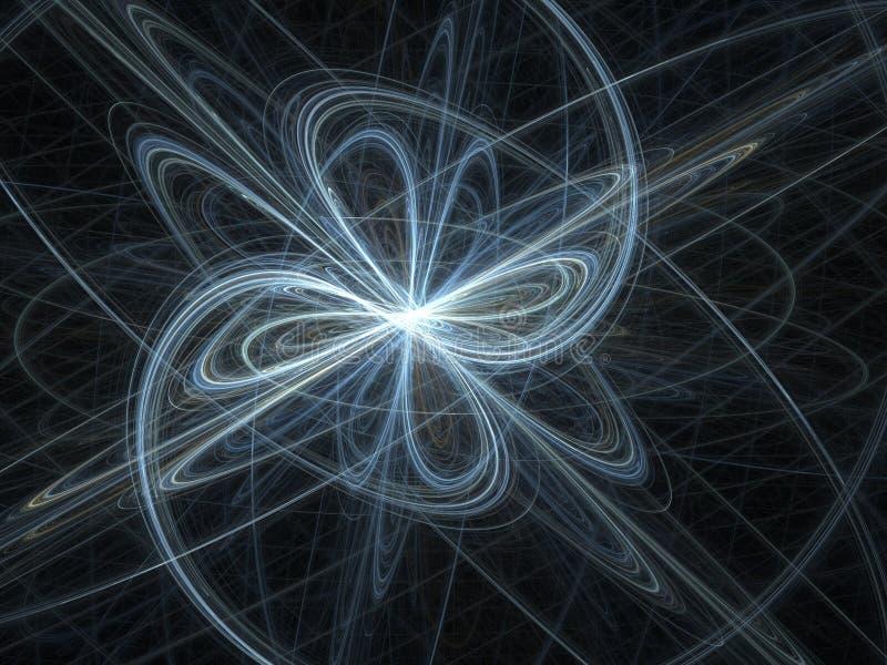 3d魔术漩涡纹理 皇族释放例证