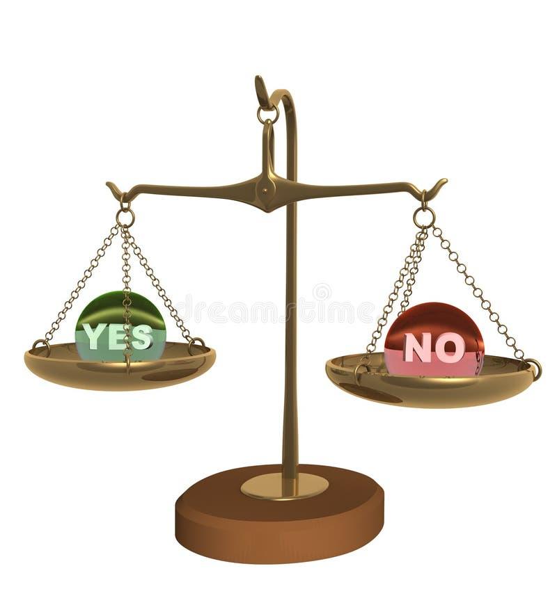 3d a équilibré des échelles de cuvettes illustration libre de droits