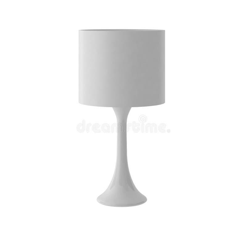 3d übertragen von der modernen Lampe lizenzfreie abbildung
