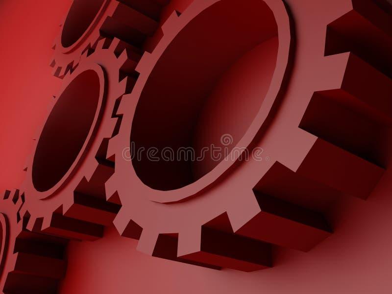 3d зацепляет высокое качество иллюстрации иллюстрация вектора