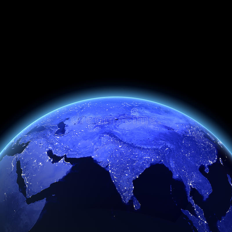 3d Индия представляют иллюстрация штока
