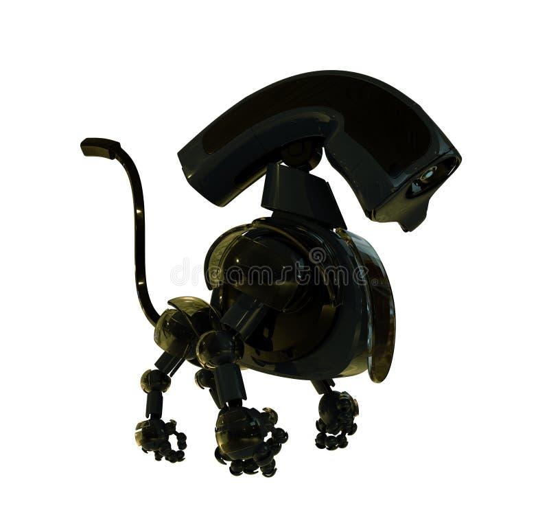 3d охлаждают робототехническую игрушку бесплатная иллюстрация