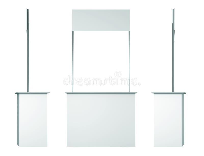 3d рекламируя обруч сбывания стола кривого стоковое фото rf