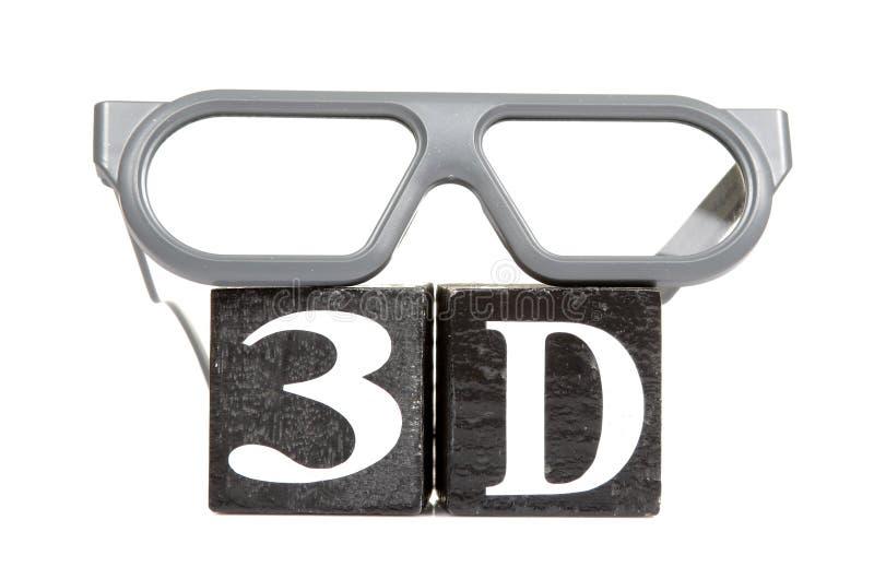 Download 3d stock photo. Image of glasses, frame, blocks, technology - 24691038