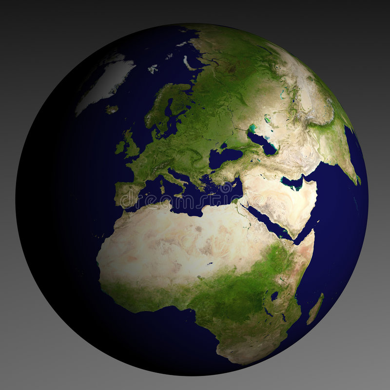 3d aarde stock foto's