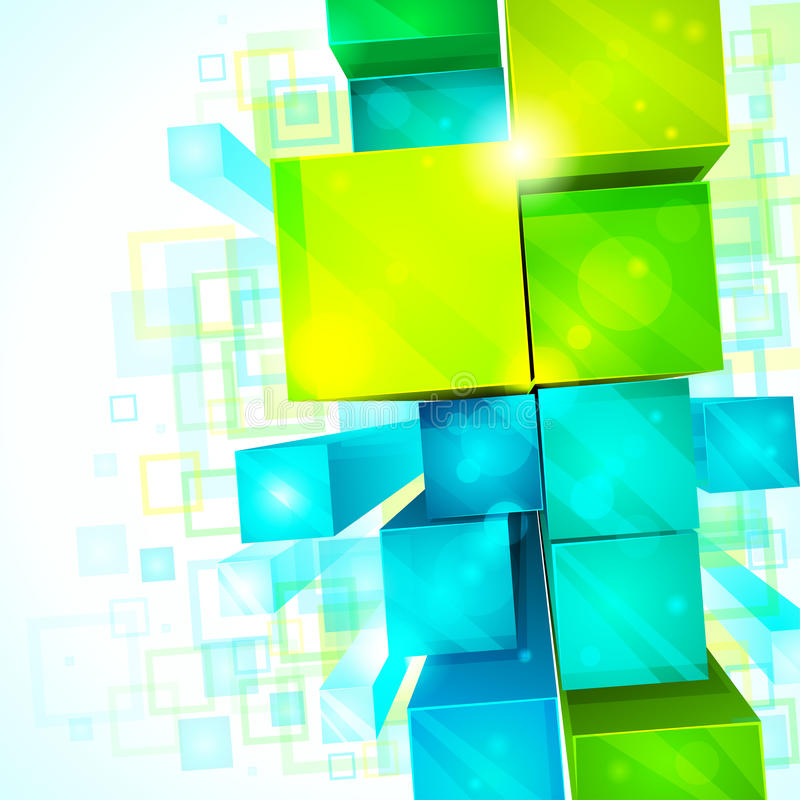 Free 3d Abstract Background Stock Photo - 16381050