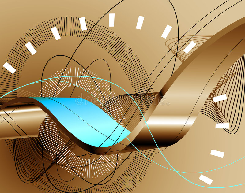 3d abstract background stock illustration