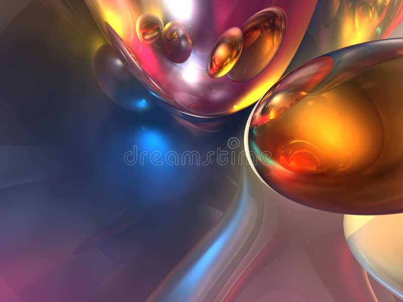 3D Abstract Colorful Shiny Colorful Glossy Render. Background vector illustration