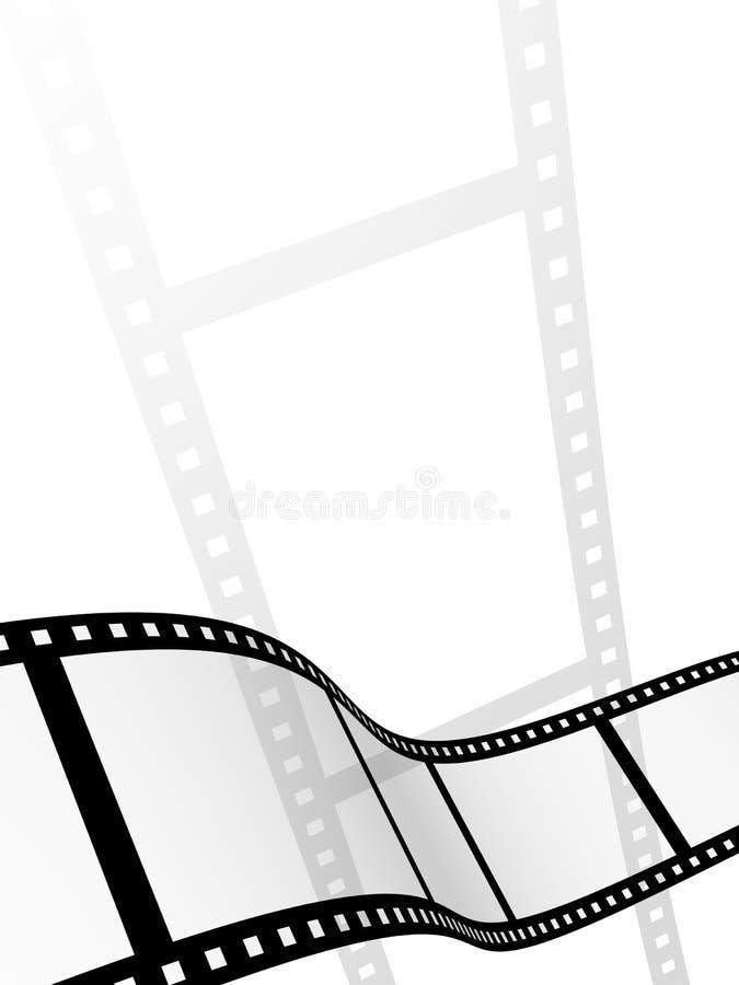 3d abstracte fotografische film vector illustratie