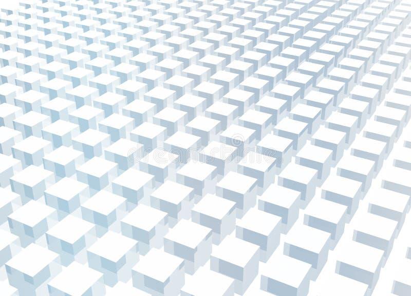 3d abstrakcjonistycznego tła bloku czysty prosty ilustracja wektor