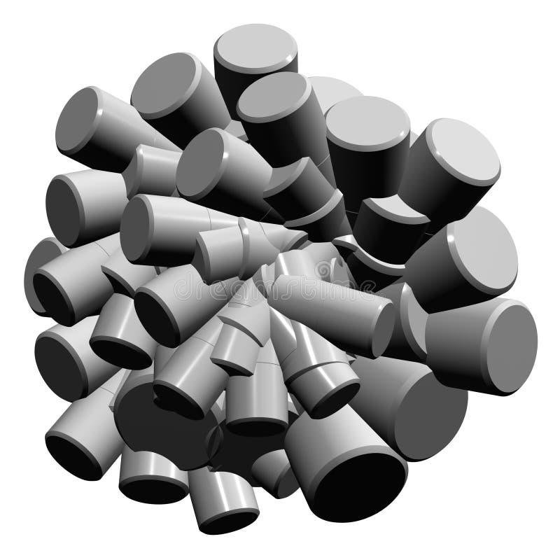 3d abstrakta wzór ilustracji