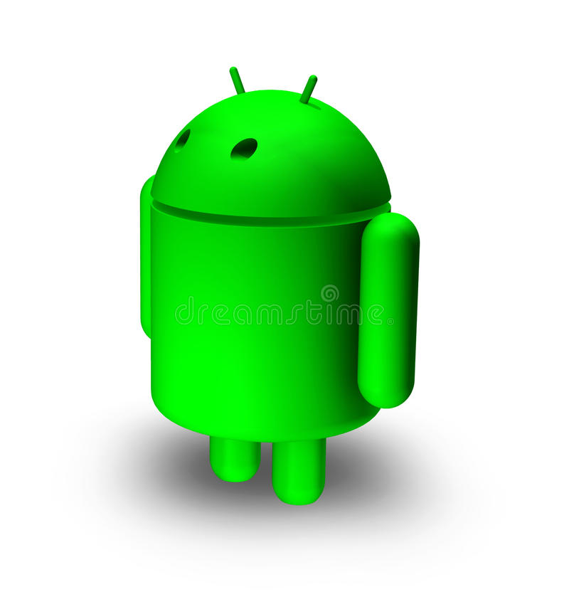 Download 3d Android editorial stock photo. Image of chrome, icon - 21985538