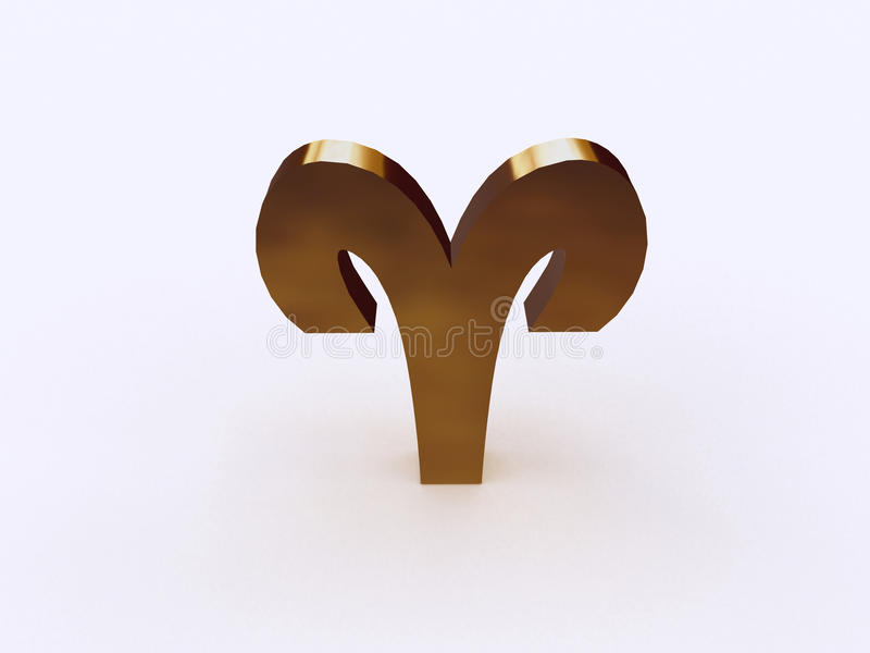 Download 3D Aries Sign Royalty Free Stock Image - Image: 11498816