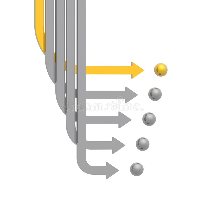 Download 3D Arrows Royalty Free Stock Image - Image: 4313696