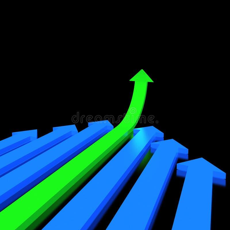 3D Arrows Stock Images