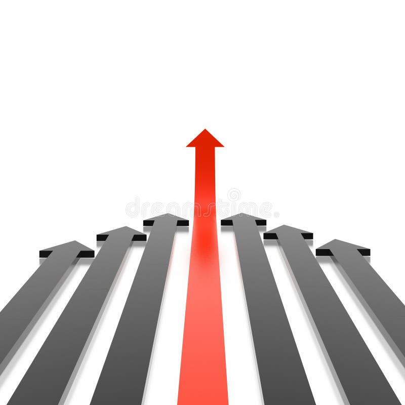 Download 3D arrows stock illustration. Illustration of creative - 4532006