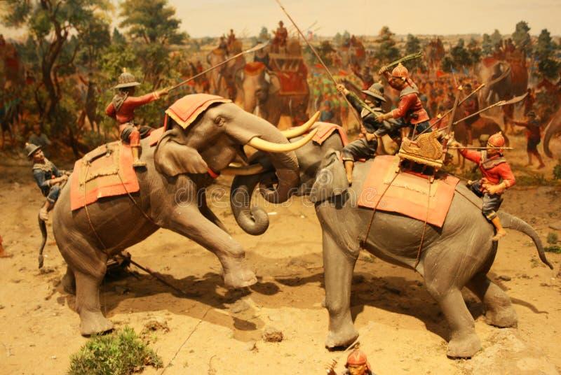 3D Art : Warrior Royalty Free Stock Photos