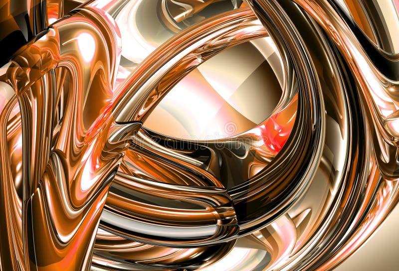 Download 3d background stock illustration. Image of chrome, background - 2267353